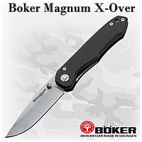 Складной нож Boker Magnum X-Over (01EL006) 440, G-10, клипса
