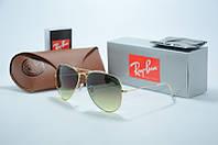 Солнцезащитные очки Ray Ban черное с зеленым
