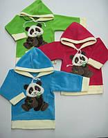 Флисовый детский батник Панда