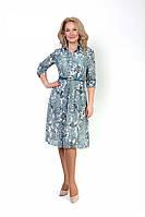 Женское легкое праздничное платье Живанши, размеры 46,48,50,52