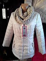 Куртка-пиджак бежевая