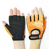 МОДНЫЕ оранжевые перчатки Stein Rouse для ФИТНЕСА