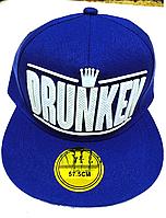 Кепка мужская  ХИП-ХОП DRUNKEN