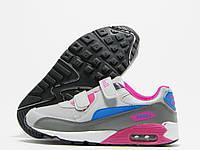 Кроссовки детские Sport серые с розовым