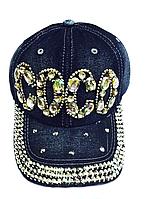 Бейсболка женская  джинсовая COCO