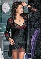 Комплект халат с ночной рубашкой 8540