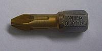 Бита wiha PH2х25 с титановым покрытием