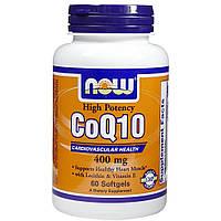 Коэнзим Q10 NOW Coq10 400 mg 30 капс