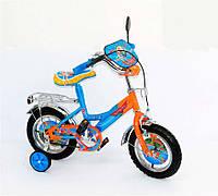 Детский Велосипед Самолеты 2-х колесный, 12 дюймов, Toys7 141202 KK