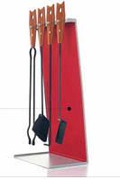 Подставка для аксессуаров для камина Bek красная