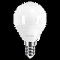 Светодиодная лампа GLOBAL 5Вт G45 E14