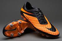 Бутсы Nike Hypervenom Phantom SG 599851-008 Оранжевые найк хупервеном