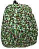 Необычный детский рюкзак Blok Half Digital Green 12 л KZ24484104, цвет зеленый мульти