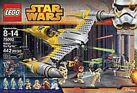 Лего Звездные войны 75092 Истребитель Набу LEGO Star Wars Naboo Starfighter