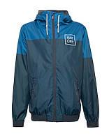 Вітровка\Куртка\Анорак Pull and Bear - Two-Tone Jacket Royal/Navy (мужская/чоловіча) Весна-Осінь-Осень