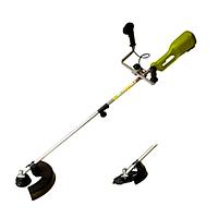 Триммер GRUNFELD RMTH1200-2 1200 Вт, пл. пуск, велосипедная- ручка (леска/нож)