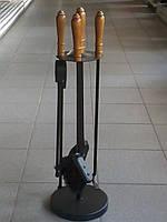 Набор для камина (подставка + 4 предмета)