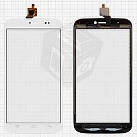 Touchscreen (сенсорный экран) для BLU Life View L110/L110a, оригинал (белый)