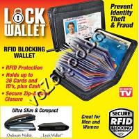 Футляр для документов и карточек визитница кардхолдер Lock Wallet