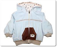 Детская велюровая курточка