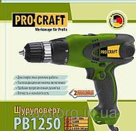 Шуруповерт PROCRAFT PB 1250 Профи(2-х скоростной)