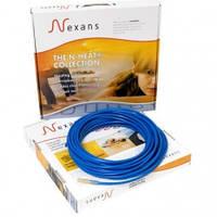 Нагревательный кабель Nexans 17 Вт/м  под стяжку, двухжильный
