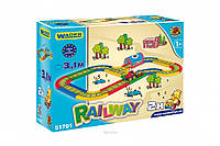 Kid Cars детская железная дорога 3,1 м Wader 51701