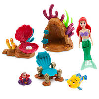 Игровой набор мини Русалка Ариэль The Little Mermaid - Swimming Ariel Playset