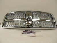 Полностью хромовая решетка радиатора Dodge RAM 1500 2009-12 новая оригинальная