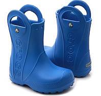 Crocs сапоги резиновые детские Crocs Handle It Rain Boot Kids