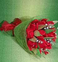 """Букет композиция цветы из конфет """"Краса"""" с конфетами Рафаэлло"""