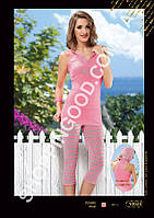 Женская пижама Anit 10024, костюм домашний с лосинами
