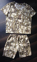 Костюм мужской из камуфляжной каттоновой ткани