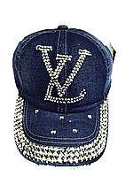 Бейсболка подростковая джинсовая LV