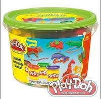 """Плей-Дох ведерко пластилина 4б """"Сафари"""" Play-Doh (23414)"""