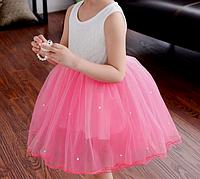 Детское платье очень нарядное 85-98