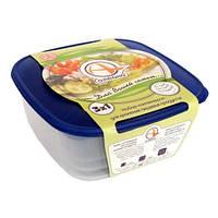 Алеана Набор пищевых контейнеров 3 в 1 (квадрат.)