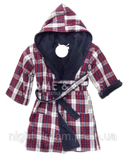 Махровый халат для мальчика OLIVER  от Casual Avenue на 5-6 лет