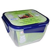 Алеана Набор пищевых контейнеров с зажимом 3 в 1 (квадрат.)