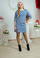 Платье женское неопрен электрик, фото 1