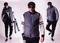 """Мужская демисезонная куртка-трансформер """"Nike"""" (р.46)"""