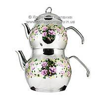 Чайник для заваривания турецкого чая Akdem K2265