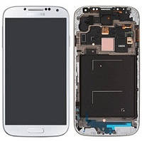 Дисплей Samsung I9500 Galaxy S4 с белым сенсором