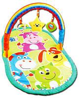 Коврик для малышей с погремушками HX 9103