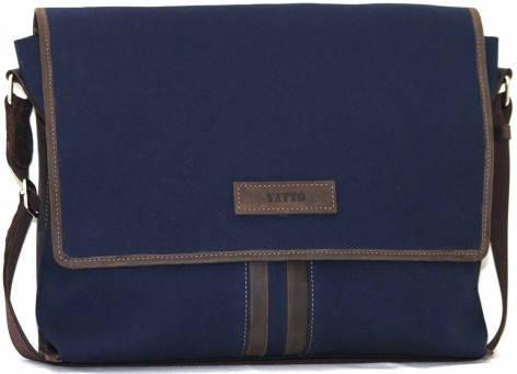 Молодежная практичная мужская сумка через плече из текстиля VATTO Mт34Hl2Kr450