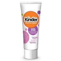 Детский крем для самых маленьких при раздражениях и покраснениях Kinder Natural & Organic