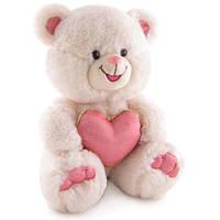 Ведмідь з розовим серцем 801