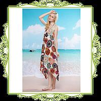 Платье пляжное Звездочки