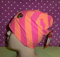 Детская шапка для девочки/дитяча шапка для дівчинки BASIC 50 ТМ BROEL (Польша) Размеры: 49,51,53