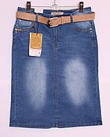 Джинсовая юбка больших размеров